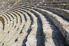 Le rovine antiche di Hierapolis Immagini Stock