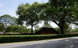 Le rovine antiche nel parco Fotografia Stock