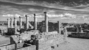 Le rovine antiche si avvicinano al pathos fotografia stock
