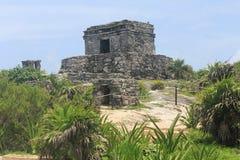Le rovine archeologiche di Tulum, Messico Immagine Stock