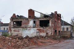 Le rovine dei centri commerciali Fotografia Stock