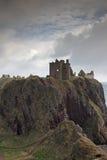 Le rovine del castello di Dunnottar, Scozia Fotografia Stock Libera da Diritti
