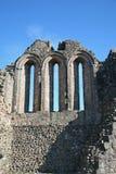 Le rovine del castello di Kildrummy Fotografie Stock