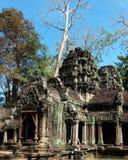 Le rovine del complesso del tempio dei tum Prohm in Cambogia Patrimonio architettonico dell'impero khmer Un capolavoro del mondo immagini stock