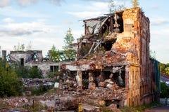 Le rovine della casa Fotografia Stock