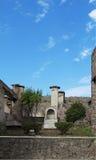 Le rovine della città antica di Pompei, Italia Fotografie Stock Libere da Diritti