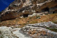 Le rovine della Crimea immagine stock