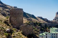 Le rovine della fortezza immagine stock libera da diritti