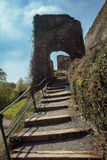 Le rovine della fortezza imperiale Beilstein inespugnabile, tedesche Fotografie Stock Libere da Diritti
