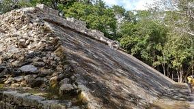 Le rovine di Coba Fotografie Stock Libere da Diritti