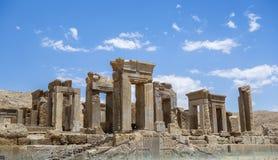 Le rovine di Persepolis nell'Iran immagini stock