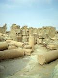 Le rovine di Rasafa Immagine Stock