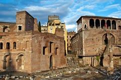 Le rovine di Roma Immagine Stock