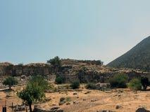 Le rovine di uno di più vecchi stabilimenti in Europa fotografia stock libera da diritti
