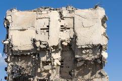 Le rovine di vecchi fabbricati industriali Immagini Stock Libere da Diritti