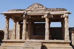 Le rovine di Vidzhayanagar Immagine Stock