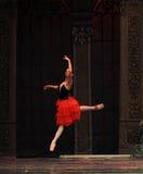 Le royaume espagnol de sucrerie de champ d'acte deuxièmes de princesse The deuxièmes - le casse-noix de ballet Images libres de droits
