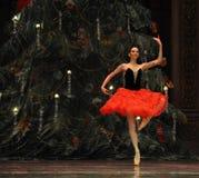 Le royaume espagnol de sucrerie de champ d'acte deuxièmes de princesse The deuxièmes - le casse-noix de ballet Photos stock