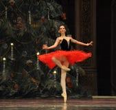 Le royaume espagnol de sucrerie de champ d'acte deuxièmes de princesse The deuxièmes - le casse-noix de ballet Image libre de droits