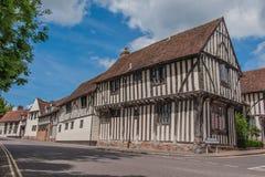 Le Royaume-Uni - Lavenham Photos libres de droits