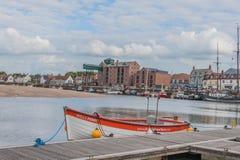 Le Royaume-Uni - Wells après la mer Images libres de droits
