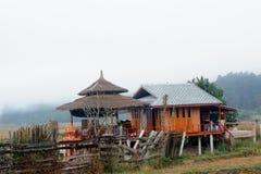 Le séjour chez l'habitant dans la campagne. Photo stock