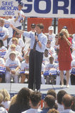 Le sénateur Al Gore visite 1992 sur de Clinton/Gore Buscapade campagne à Toledo, Ohio Photos libres de droits