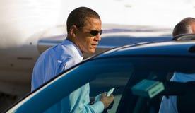 Le sénateur Barack Obama Photo libre de droits