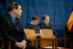 Le sénateur Joe Donnelly des Etats-Unis Image libre de droits