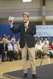 Le sénateur John Kerry s'adressant à l'assistance des aînés au centre de la vue REC de vallée, Henderson, nanovolt Photographie stock libre de droits