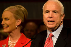 Le sénateur John McCain Photographie stock