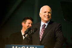 Le sénateur John McCain Horizontal 5 Photos libres de droits