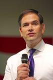 Le sénateur Marco Rubio de candidat présidentiel Image stock