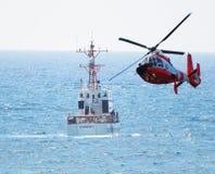 Le ` s Boca Raton Beach de la Floride était la scène d'une recherche dramatique d'océan par U S Les États-Unis Le garde côtier Image libre de droits