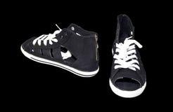 Le ` s de femmes folâtre des chaussures Photo libre de droits