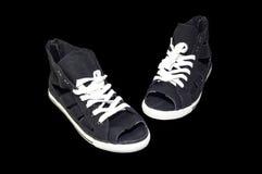 Le ` s de femmes folâtre des chaussures Image stock