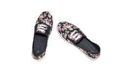 Le ` s de femmes folâtre des chaussures Images stock