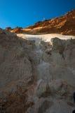 Le sable blanc et rouge dans le canyon au Vietnam, Muine Image libre de droits