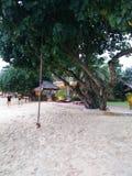 Le sable bon détendent photographie stock libre de droits