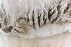 Le sable naturel pose le fond Photos stock