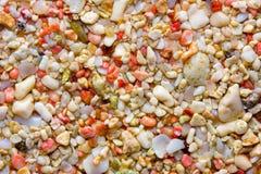 Le sable rose des Bermudes Photo stock