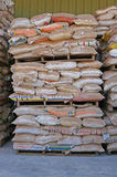 Le sac de sable Images stock