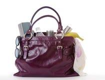 Le sac du femme Photographie stock
