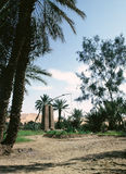 Le Sahara Image libre de droits