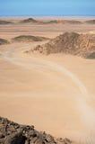 Le Sahara Images libres de droits