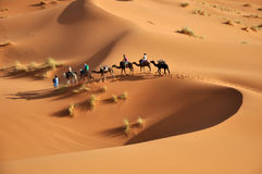 Le Sahara Photographie stock