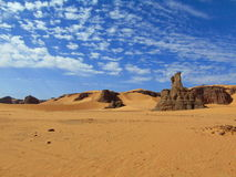 Le Sahara est liberté Image stock