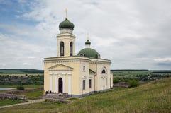 Le saint Alexander Nevsky Church, Khotyn, Ukraine Photographie stock libre de droits