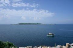 Le saint Ivan d'île près de Sozopol Image libre de droits