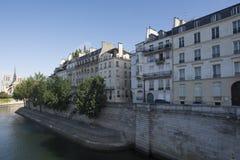 Île Saint-Louis, Paris, France Stock Photos